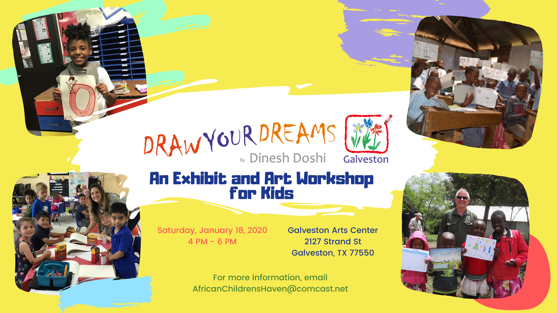 Draw Your Dreams  Graphic